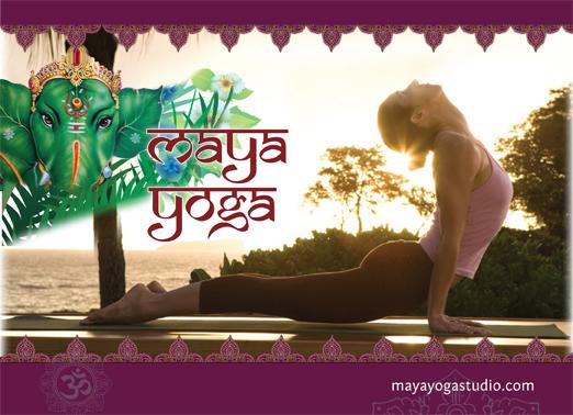 renee la roi design  graphic design for yoga studios