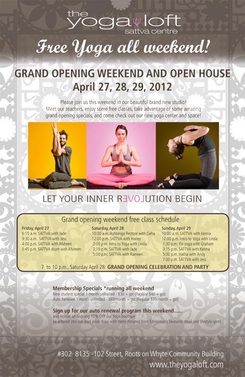Renee La Roi Design: graphic design for yoga studios